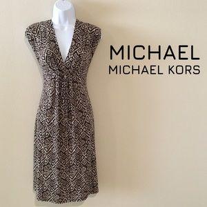 MICHAEL Michael Kors Fit & Flare Knit Dress